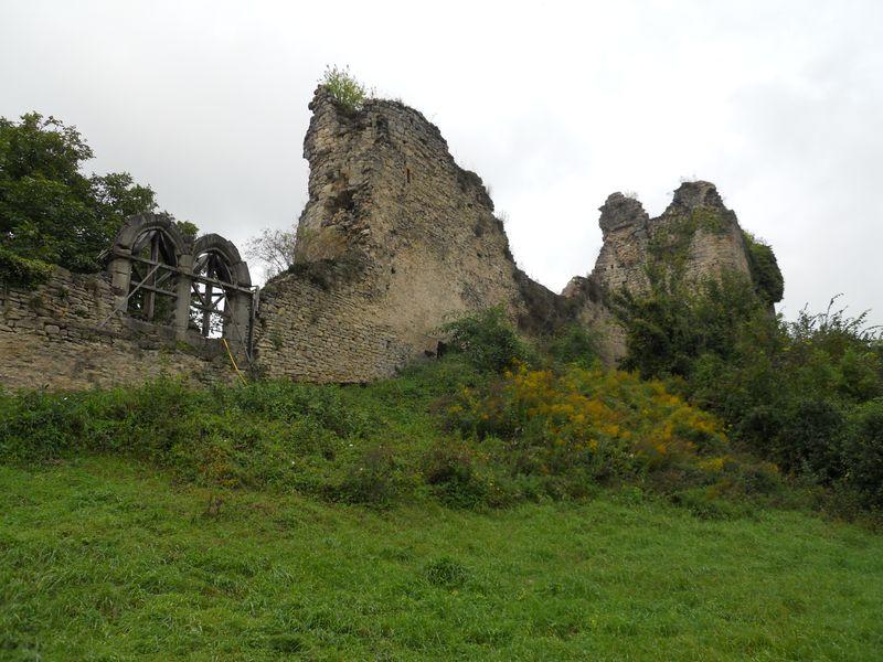 Le château de Blâmont.