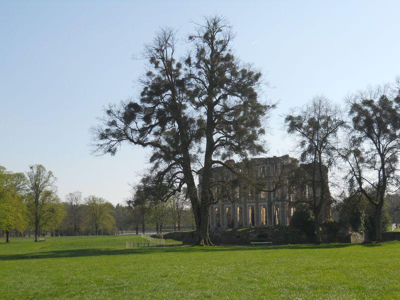 Dans le Parc du château de La Ferté-Vidame