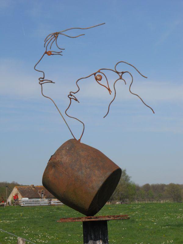 Sculpture de Jean-Alexandre Delattre
