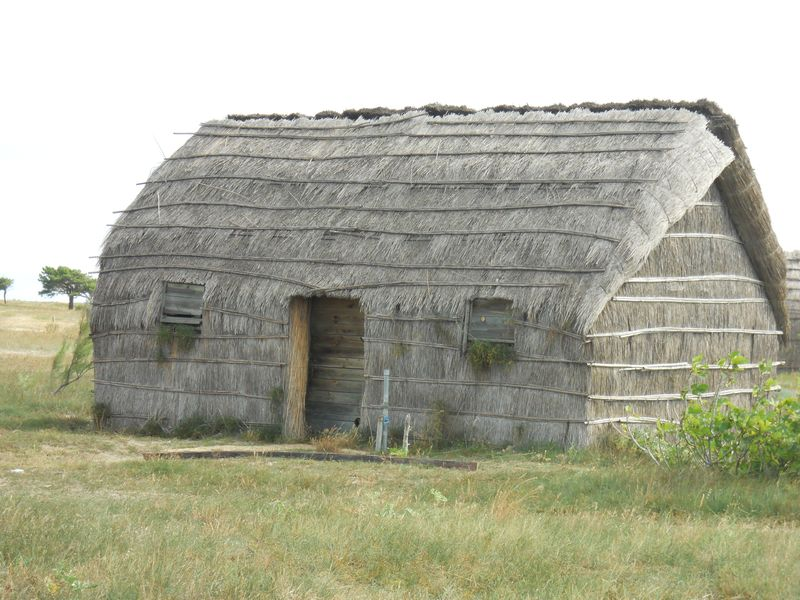 Une cabane de pécheur
