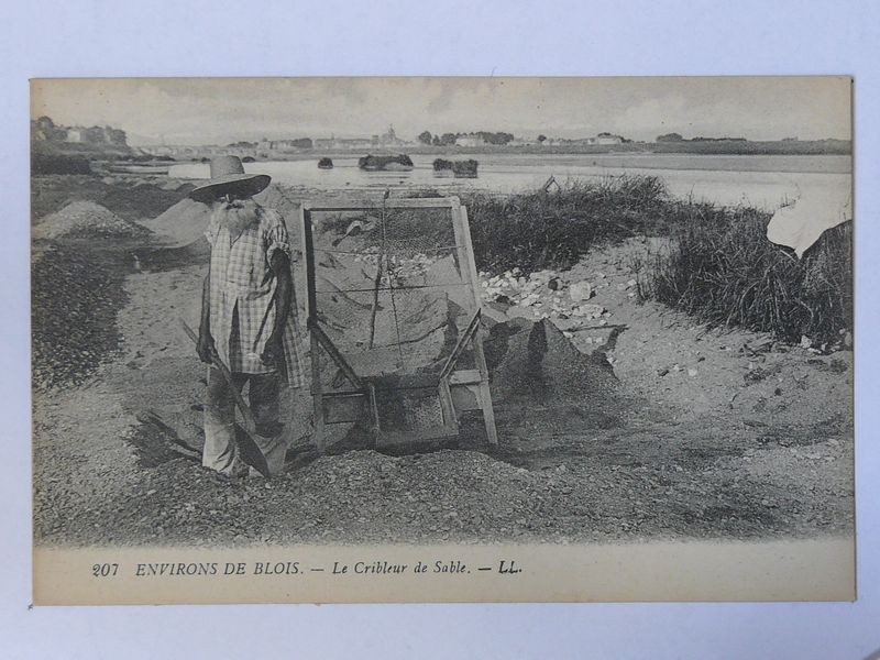 Blois, le cribleur de sable