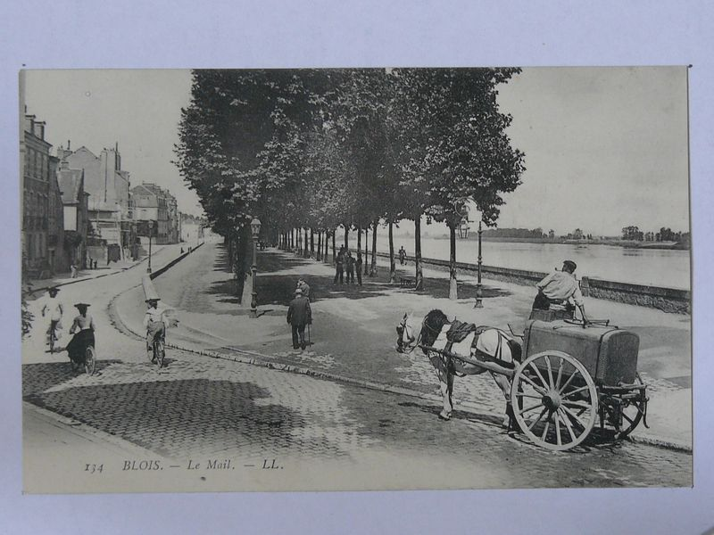 Blois, le mail