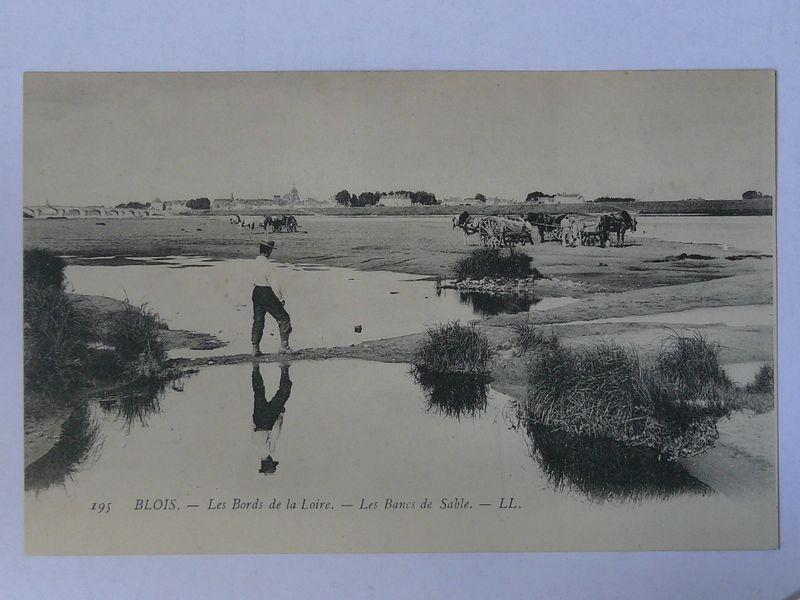 Blois, les bancs de sable