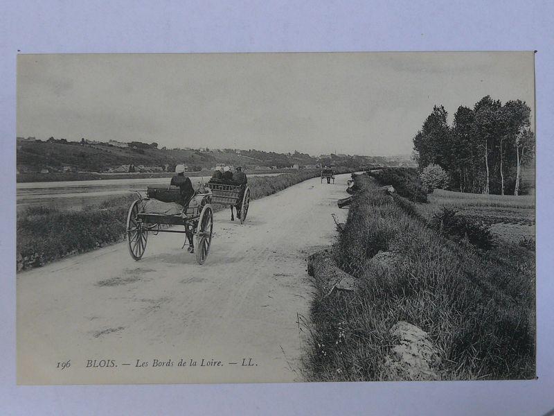 Blois, les bords de la Loire
