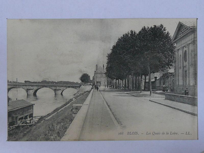 Blois, les quais de La Loire