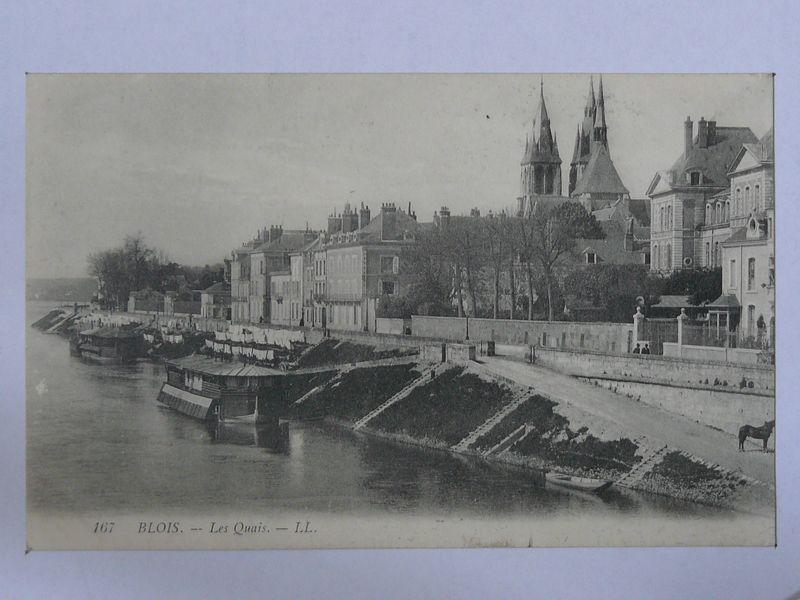 Blois, les quais