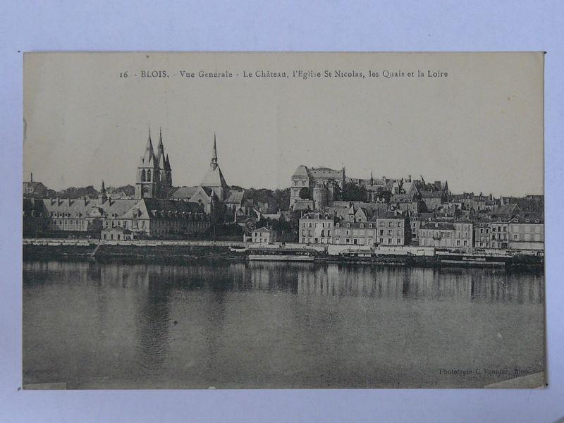 Blois, vue générale